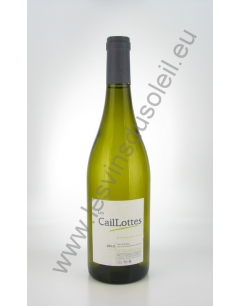 Jean Philippe Charpentier Les Caillottes 2014 Blanc