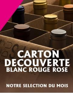 Carton Découverte d'une Sélection de Vins du Languedoc Roussillon