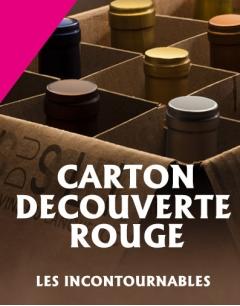 Carton Découverte d'une Sélection de Vins Rouge du Languedoc Roussillon