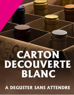 Carton Découverte d'une Sélection de Vins Blanc du Languedoc Roussillon